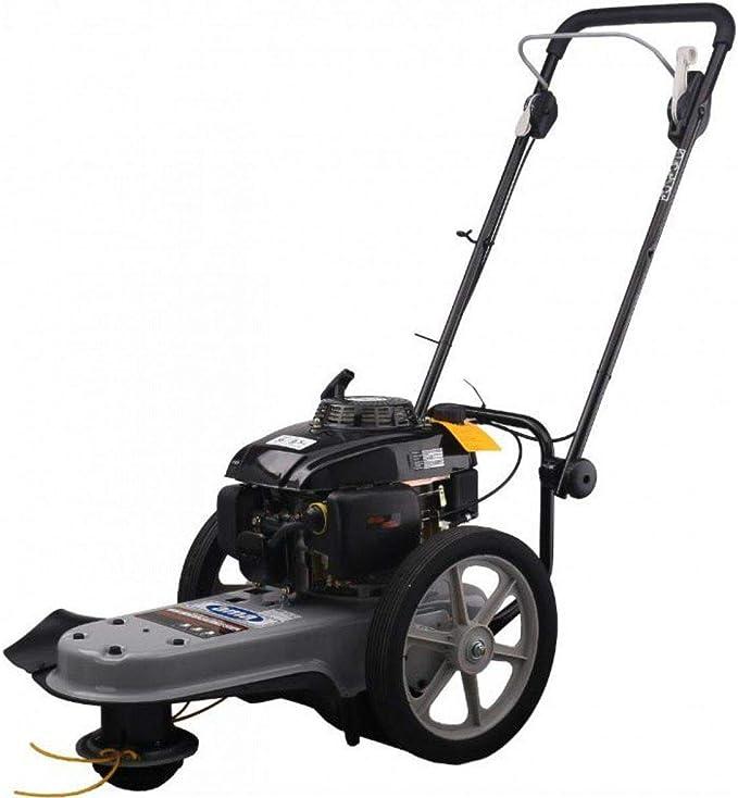 desbrozadora, con carro con ruedas Altas dc560, Motor CC: Amazon.es: Bricolaje y herramientas