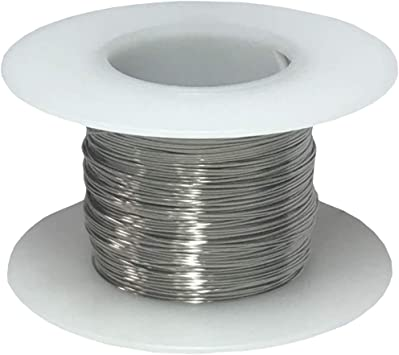 """34 AWG Gauge Stainless Steel 316L Wire 250/' Length 0.0063/"""" Diameter"""