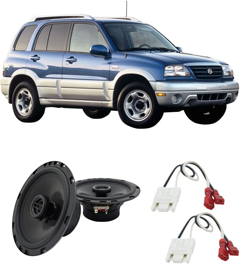 Fits Acura TL 2004-2008 Front Door Replacement Speaker Harmony HA-R65 Speakers