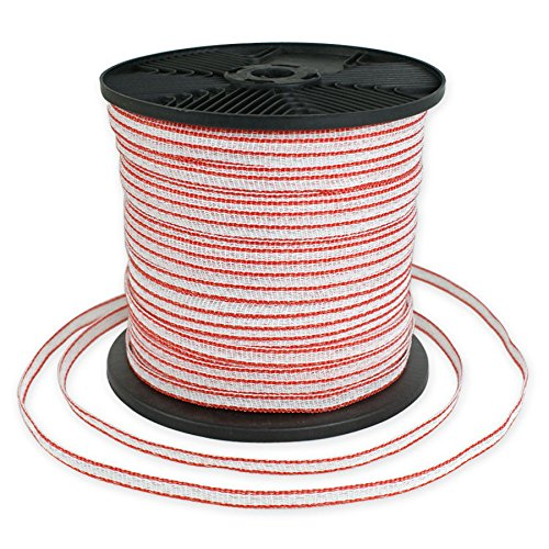 ZENY Polytape Heavy Duty 1/2 Inch Poly Electric Fence Hor...