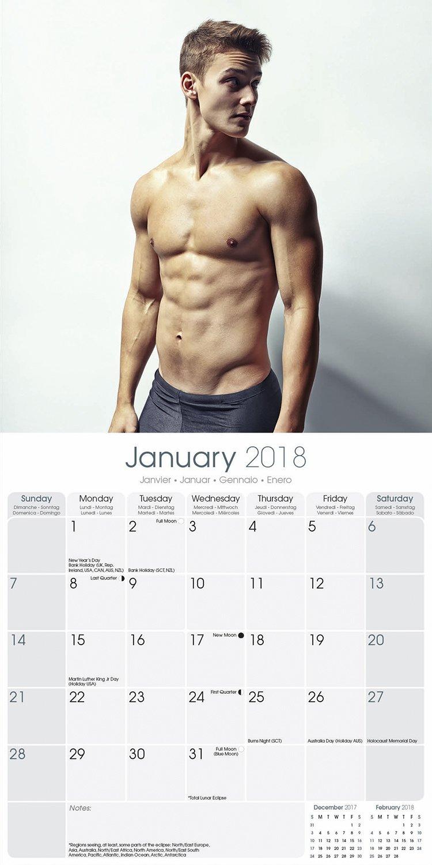 Hot Official Calendar 2018 naked (19 photos), Topless, Hot, Twitter, see through 2019