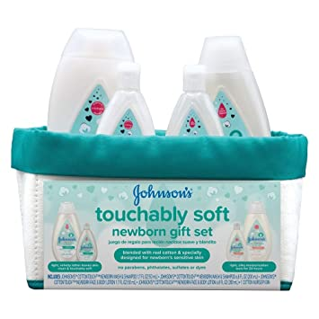 Amazon.com : Johnsons Cotton Touch Soft Newborn Gift Set (Pack of 6 ...
