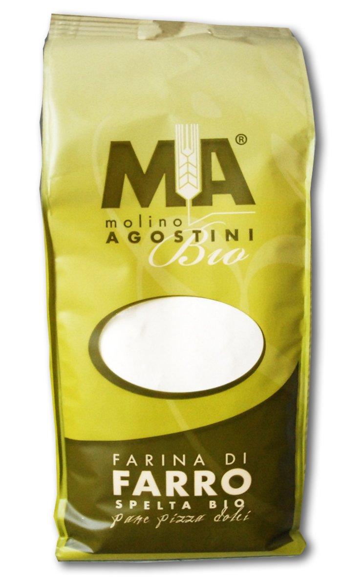 Farina di Farro spleta Bio (Farro Orgánica Harina) 1 kg, 2 ...