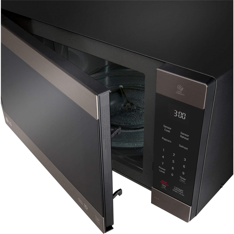 LG 2.0 Cu. Ft. NeoChef Countertop Microwave (LMC2075BD) Stainless Steel/Black (Renewed) by LG (Image #4)
