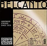Thomastik-Infeld BC600S Belcanto Double Bass Strings, Complete Set, BC600S, 3/4 Size, Rope Core Chrome Wound