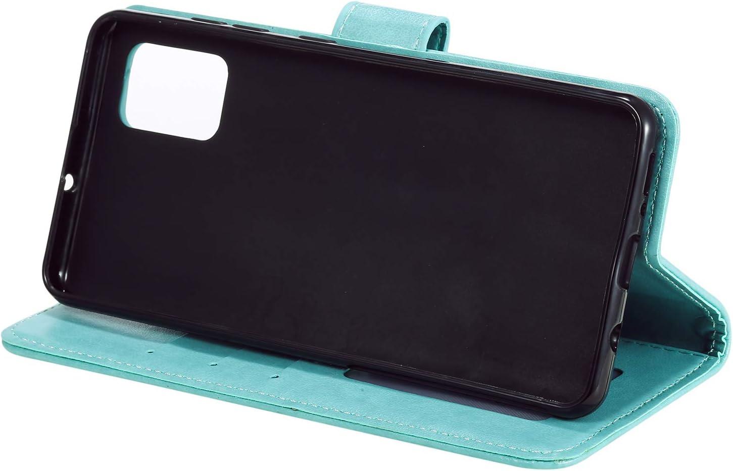 Brieftasche Handyh/ülle Klapph/ülle mit Kartenhalter Stossfest Lederh/ülle f/ür Samsung Galaxy A51 TOHHA080424 Blau Tosim Galaxy A51 H/ülle Klappbar Leder