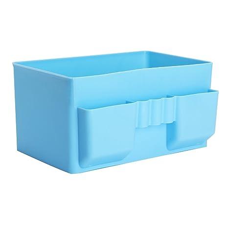 Caja Almacenaje Ropa Interior Maquillaje Cosmético de Almacenaje Organizador Estantes para Ducha Cuarto de Baño
