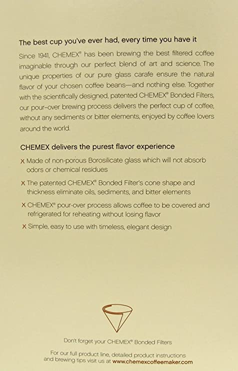 Amazon Chemex Coffee Maker 6 Cup Drip Coffeemakers Kitchen
