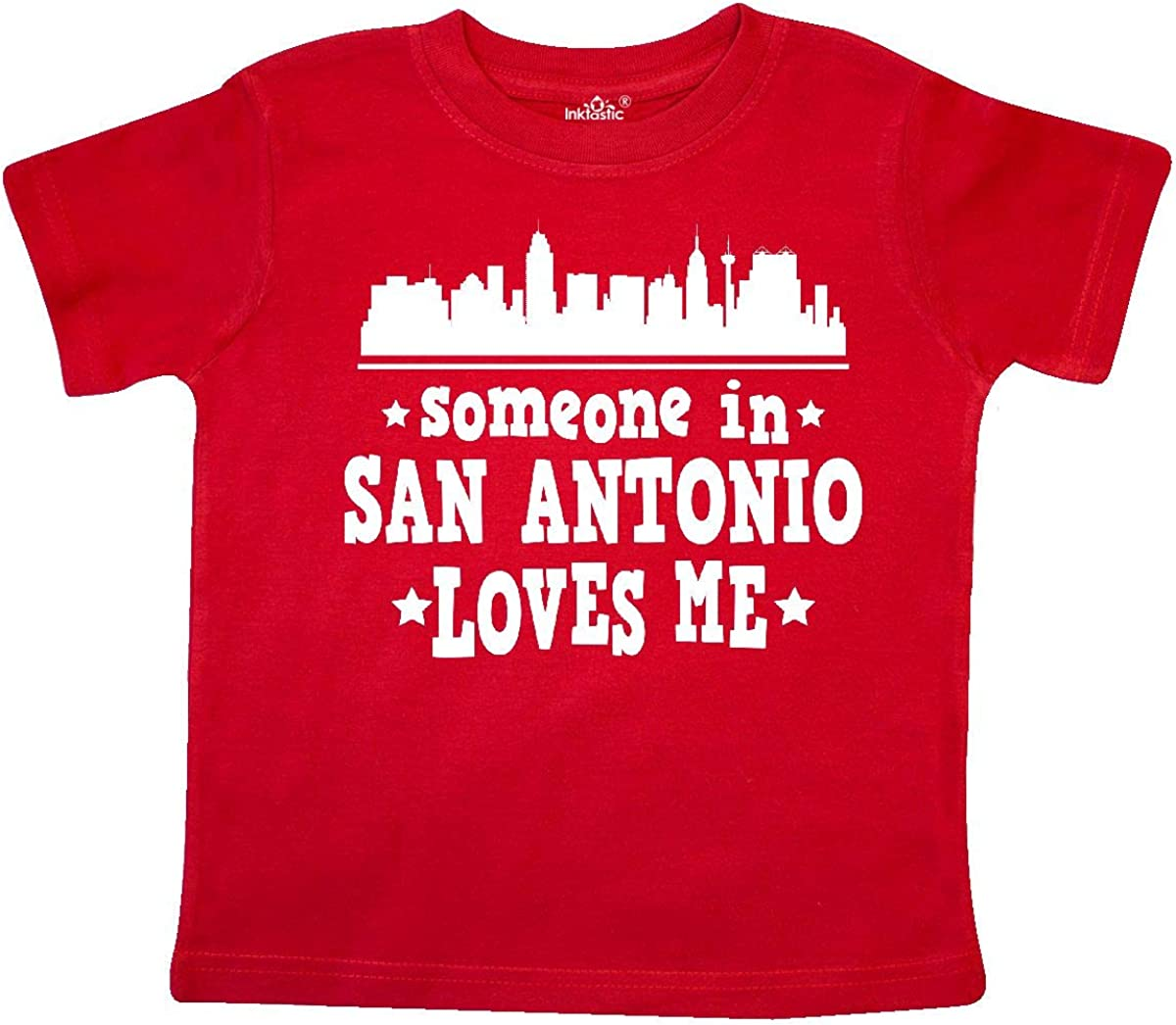 inktastic Someone in San Diego Loves Me Gift Baby T-Shirt