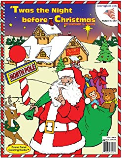 Twas the Night Before Christmas Really Big Coloring Book ...