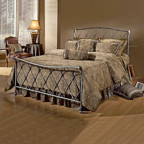 hillsdale-furniture-1298bqr-silverton-bed-set-with-rails-queen-brushed-silver