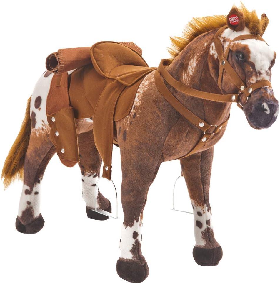 Happy People 58937 - Caballo del Vaquero Anglo-árabe con Sonido (soporta hasta 100 kg) [Importado de Alemania]
