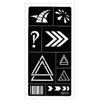 Just Fox – Plantilla de aerógrafo de Henna Tatuaje, diseño de ...