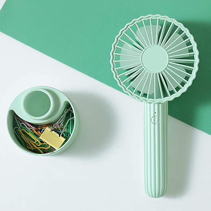 Amazon.com: Sllve-hive Cactus Mini Fan Removable Portable Fan with USB Rechargeable Battery Operated Cooling with 3 Adjustable Speeds Electric Fan: Office ...