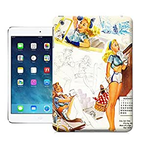Longcase fashionable beauty painting picture of attractive design TPU cases for ipadmini