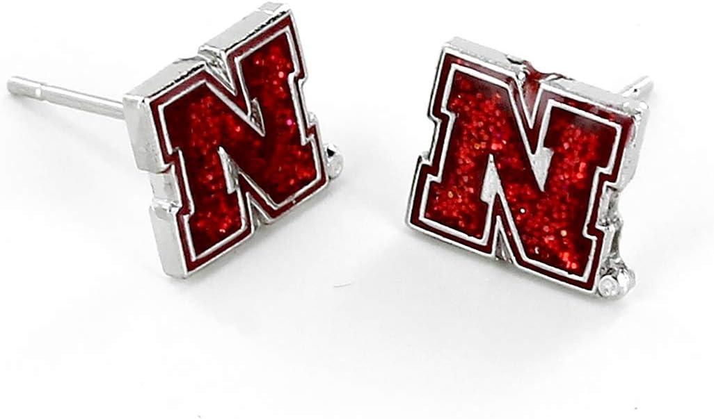 aminco NCAA Nebraska Cornhuskers Logo Bracelet