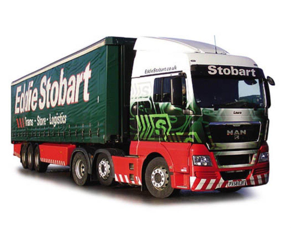 Corgi 1/50 Scale Diecast CC15202 - MAN XLX Curtainside Eddie Stobart B0021L987M