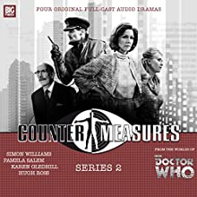 Counter-Measures Series 2 Audiobook by Matt Fitton, James Goss, Cavan Scott, Mark Wright, John Dorney Narrated by Pamela Salem, Simon Williams, Karen Gledhill, Hugh Ross, Philip Pope