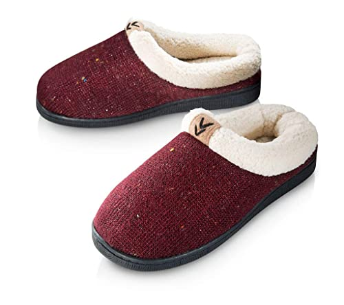 217d4bfdc94 Pupeez Girls Cozy Warm Sweater Knitted Slipper; A Luxury Style Kids House  Shoe with Rubber Sole