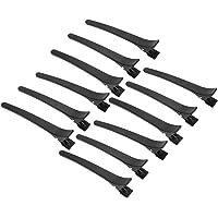 Anself 12Pcs Alligator Hair Clip Salon Sectioning Grip Clip Crocodile Hair Clamp Hairdressing Styling Hairpin