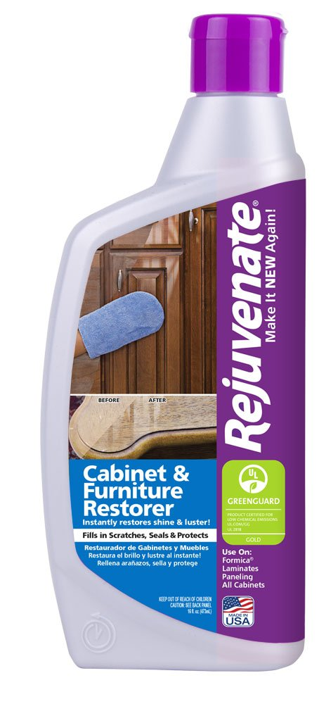 Rejuvenate Complete Floor, Cabinet and Furniture Home Restoration Kit – Clean and Restore Floors, Cabinets and Furniture - 7 Piece Kit