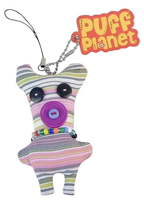 Amazon.com: Puff Planet button-eyed Doll Encanto con llavero ...