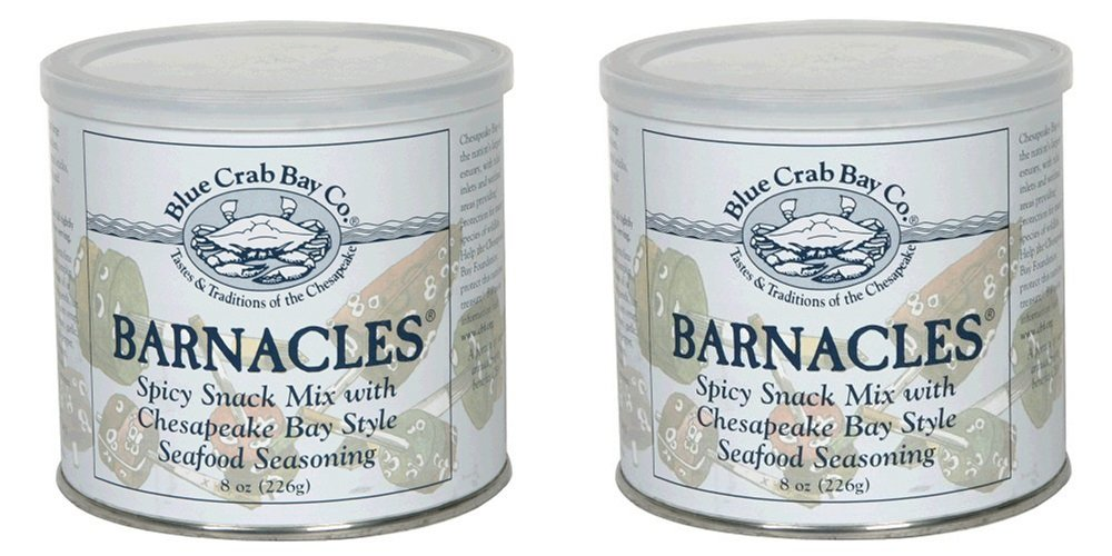 Blue Crab Bay Co. Barnacles Snack Mix, 8-Ounces (Pack of 2)