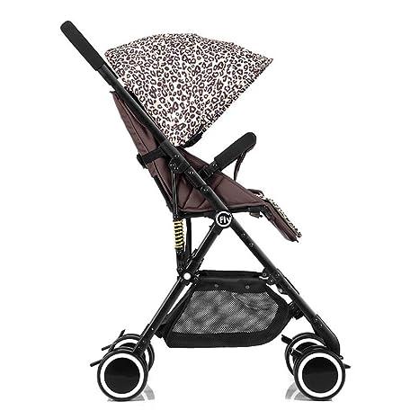 Amazon.com: ZLMI Pushchairs Baby Stroller Folding Pushchair ...