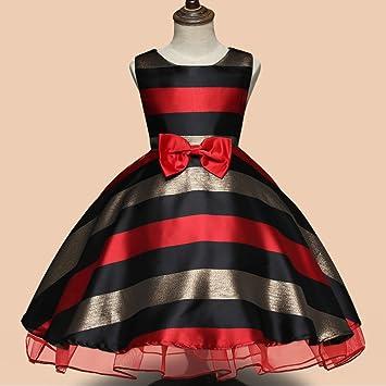 Vestido de verano vestido de niña arco en falda de vestido tubo ...