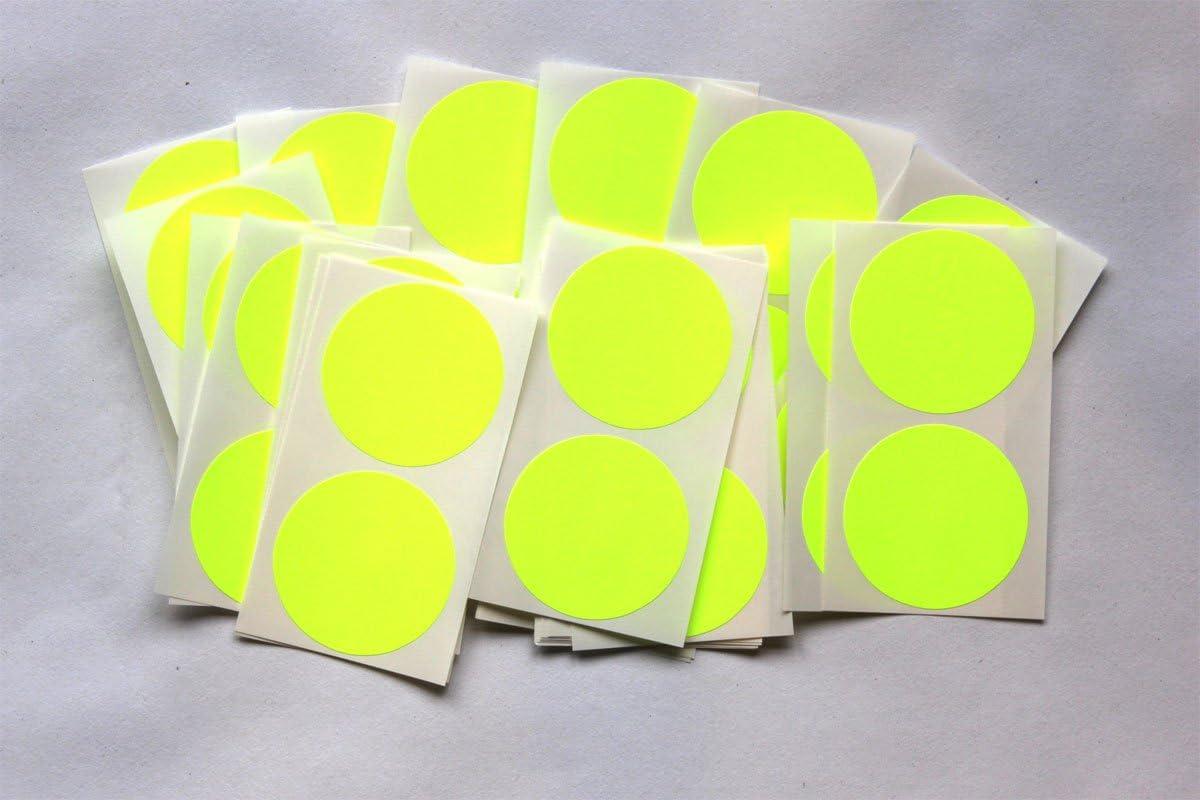 50 St/ück beige selbstklebend rund SteveStickers Klebeetiketten farbig