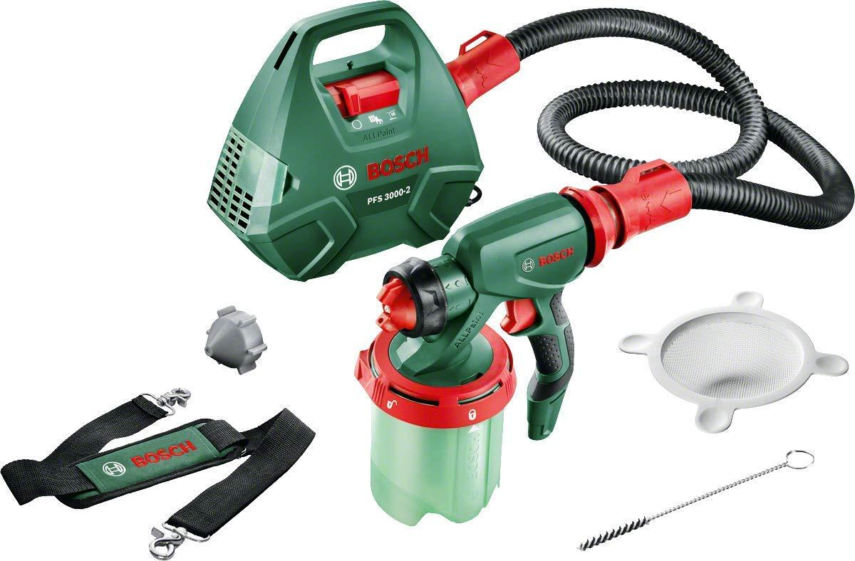 Bosch 0603207100 Sistema de pulverizació n de Pintura, 220 V, Negro, Verde, Rojo, 650 W