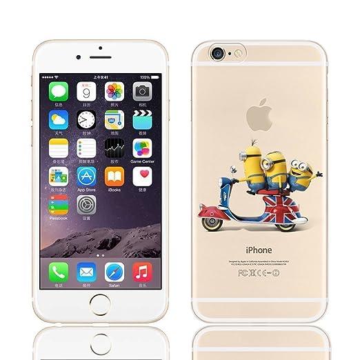 212 opinioni per Disney PRINCESS ; MINIONS ; WINNIE ;trasparente in poliuretano per iPhone-Cover