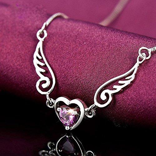 DU lijun S925 argent collier mignon japonais et coréens fashion Collier pendentif avec collier zircon argent