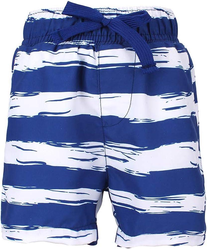 LACOFIA Pantaloncini da Bagno per Bambino Costume da Bagno da Spiaggia Elasticizzato in Vita da Bambini