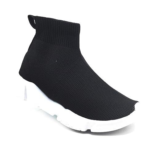 9419bee91e6de3 Toocool - Scarpe Bimba Bambina calzino Perle Sport Tessuto Elastico  Sneakers Sportive 963B [19,