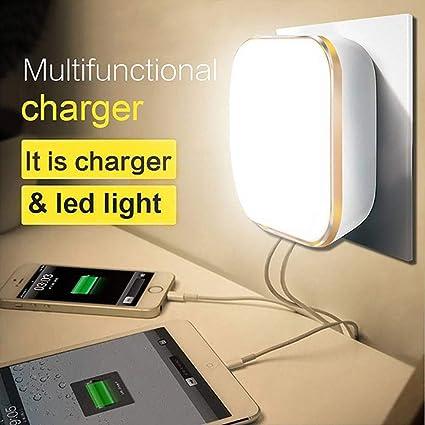 Amazon.com: TXOTO Luz nocturna, LED Luz nocturna, Dual ...