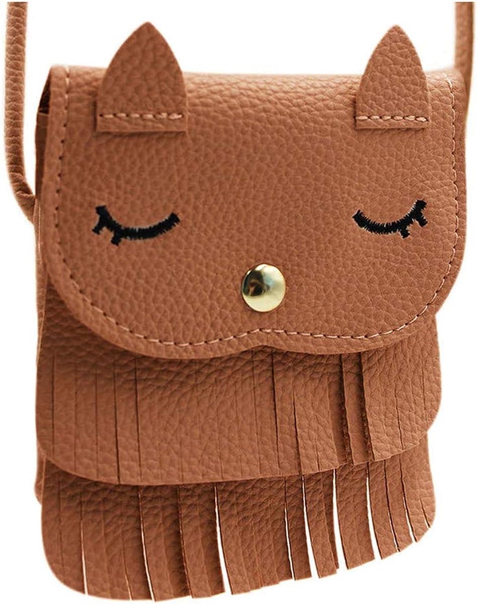 Cute Cat Tassel Shoulder...