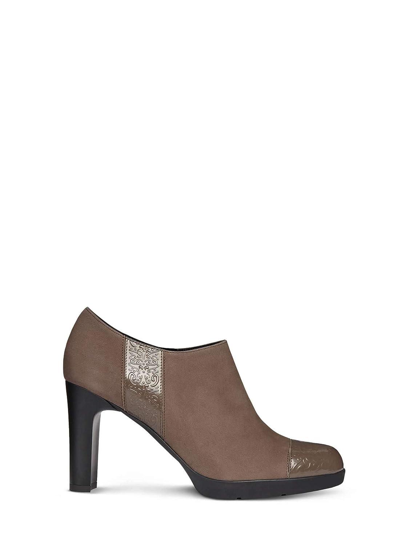 TALLA 37.5 EU. Geox D Annya High D, Zapatos de Tacón para Mujer