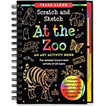 At the Zoo Scratch & Sketch (An Art Activity Book for Animal Lovers and Artists of All Ages)