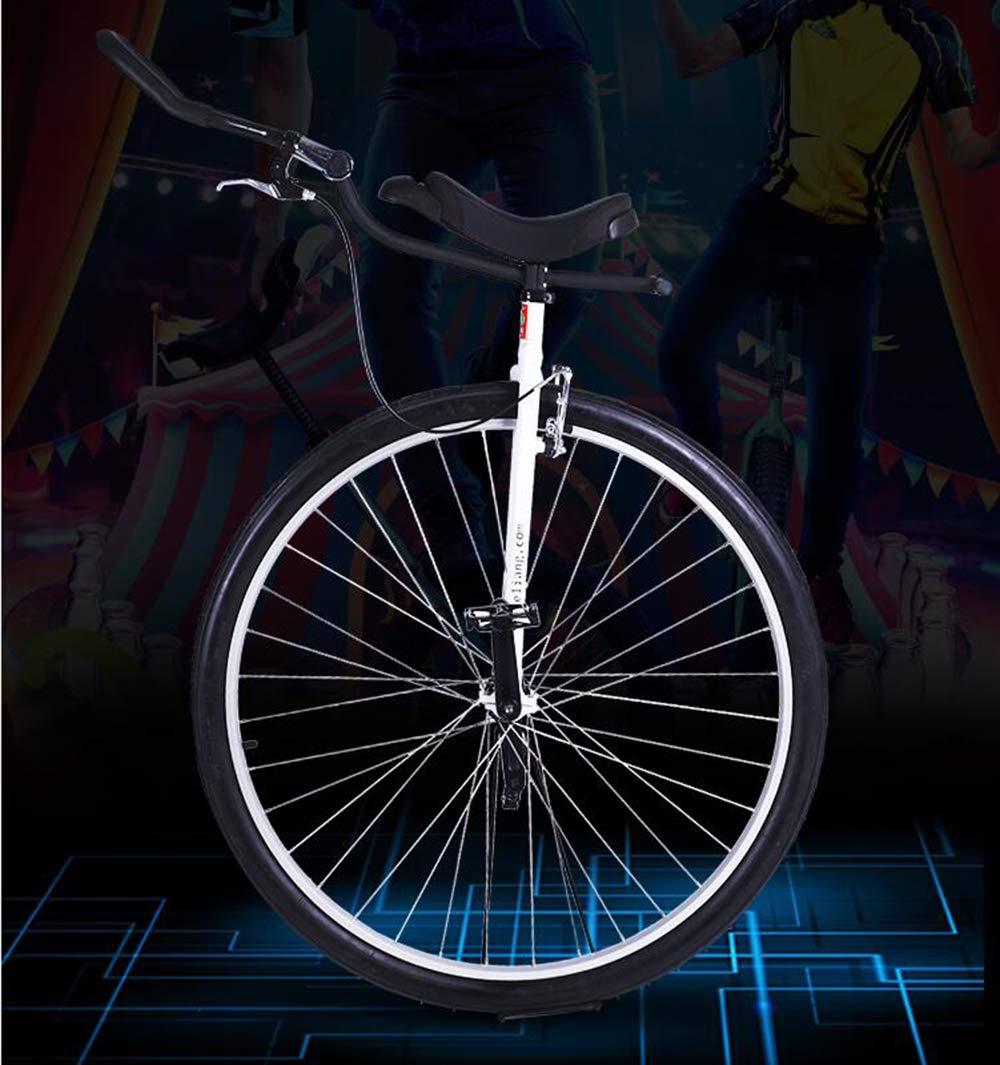 muchas sorpresas blanco Monociclo Monorrueda Ajustable Ajustable Ajustable 36  Kids Adults Cycle Maratón con Llantas Entrenador Mountain Tire Balance Ciclismo Ejercicio Bicicleta Bicicleta  suministramos lo mejor