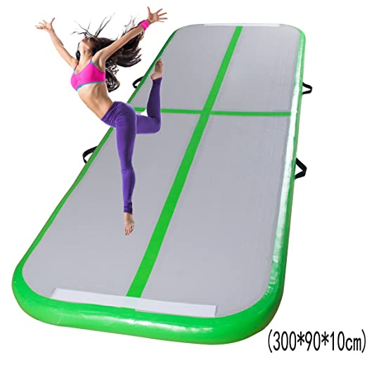 STLY Hinchable Tumbling Gimnasia Aire Floor Mat Pista Animadora ...