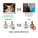 Diamond Drill Bits - Jaybva Glass Ceramic Tile Hole Saw Kit Hollow Core Drill Bits Set Extractor Remover Tools for Glass Ceramics Porcelain Diamond Coating Carbon Steel Rustproof 1/4 to 2 Inch 15PCS