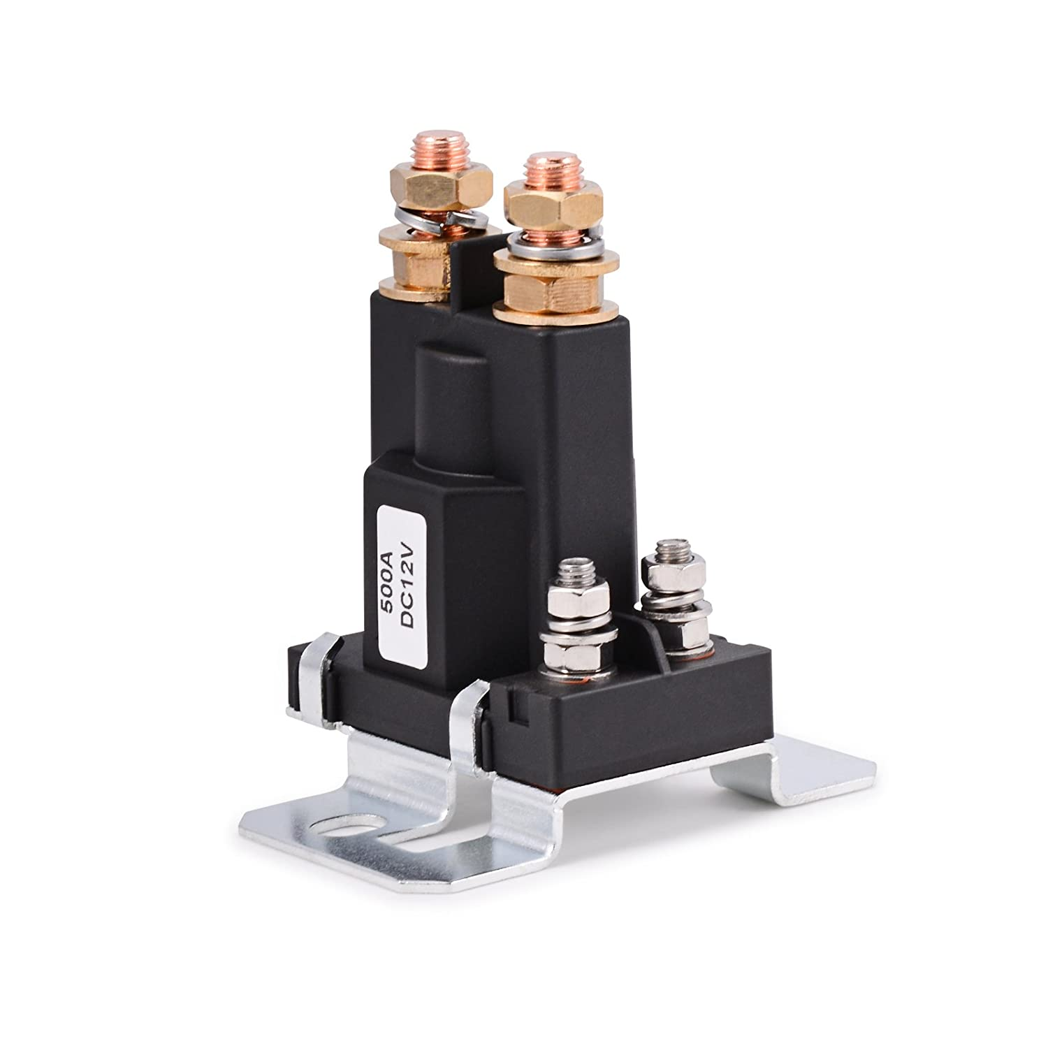 FOSHIO Heavy Duty 12VDC 500A AMP High Current 4Pin SPST Auto Car Start Relay Off On Control for Auto LED, Windowlish Wiper,Horn and Limo Turning