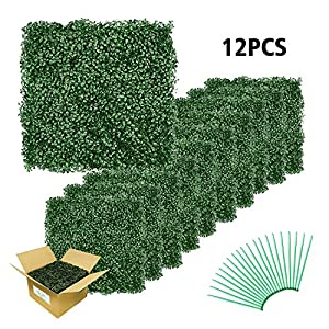 Emlyn Artificial Boxwood Suitable for Both Outdoor or Indoor, Garden, Backyard and Home Decor 9