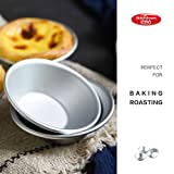 25-Pack Egg Tart Molds,Mini Tiny Pie Muffin Cupcake Pans Tin Cake Cookie Molds