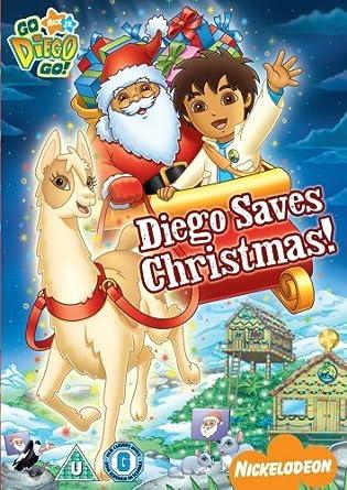 Go Diego Go!: Diego Saves Christmas [DVD]: Amazon.co.uk: DVD & Blu-ray