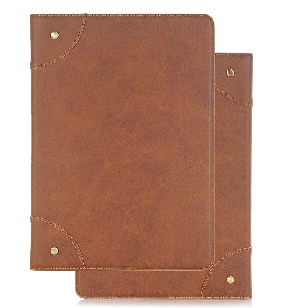 2019【 iPad Air 3 】 10.5 inch Cases and Cover,Ultra Slim Lightweight Stand Case Shell Cover Slim Sleeve Multi-Angle Viewing, Case for iPad Air 3rd Gen 10.5'',Light Brown by Vacio