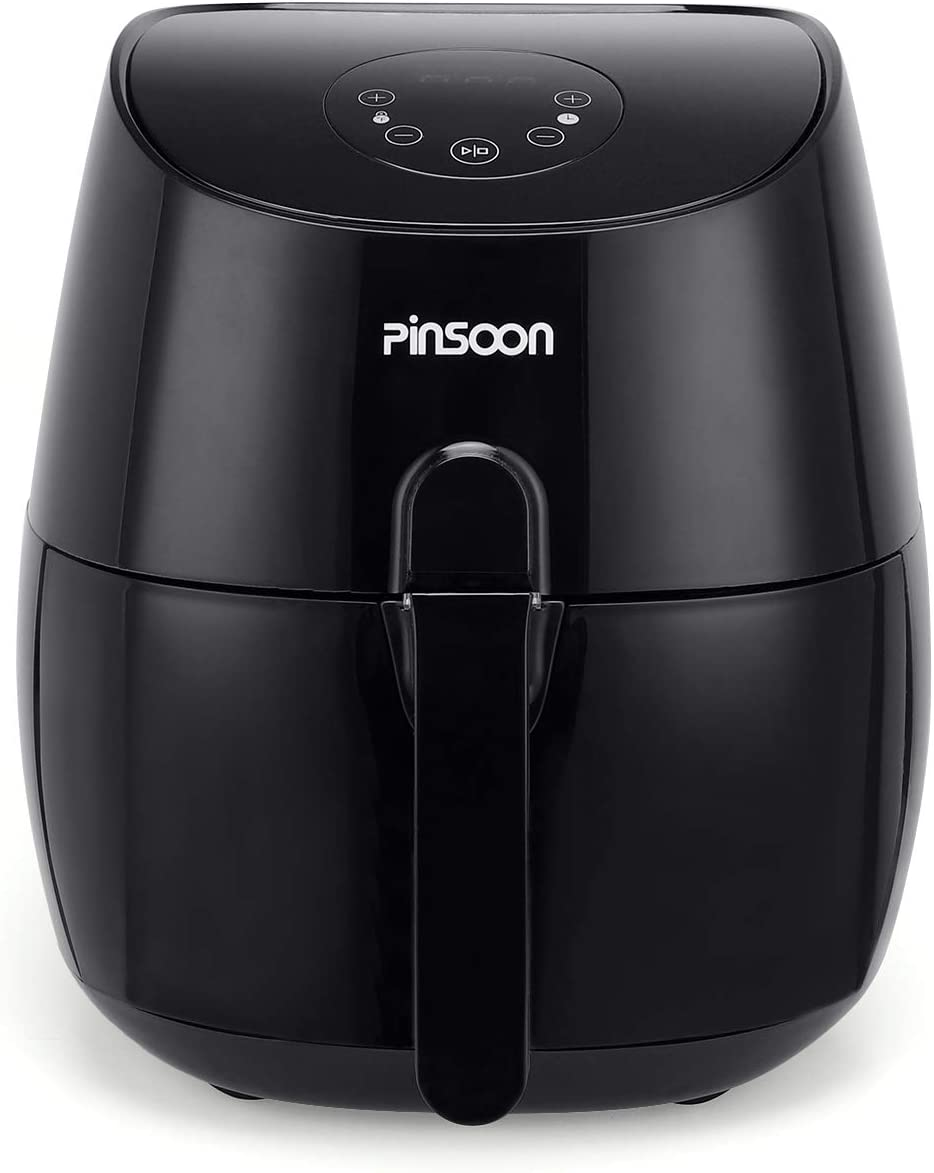 PINSOON Deep Fryer For For Home Kitchen Health Cooking, small, green