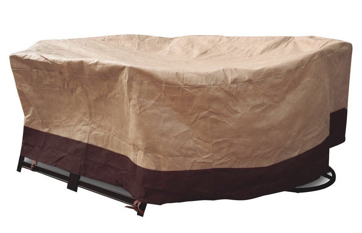 72'' Waterproof Oval/Rect Table Cover Outdoor Garden Patio Furniture Protection by Brand New (Image #1)