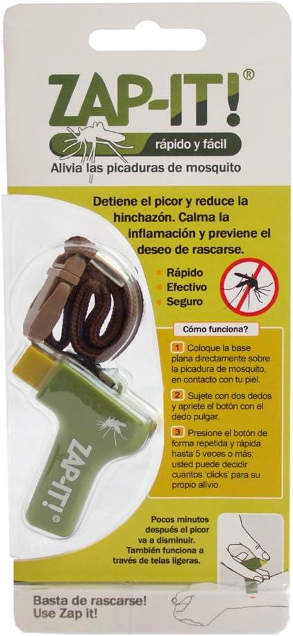 Plameca Zap - It Dispositivo Piezoeléctrico 300 g, Verde, Amarillo, Naranja, Azul: Amazon.es: Belleza